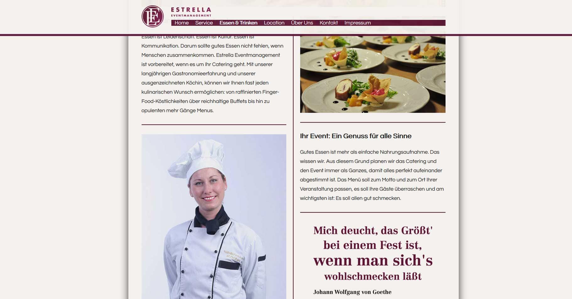 Programmierung-Webseite-Estrella-Eventmanagement-Frankfurt